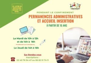 Format paysage permanence administrative